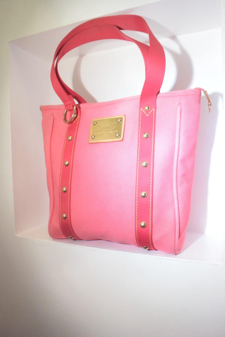Louis Vuitton Tasche Cabas MM pink-9088