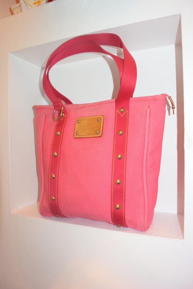 Louis Vuitton Tasche Cabas MM pink-9093
