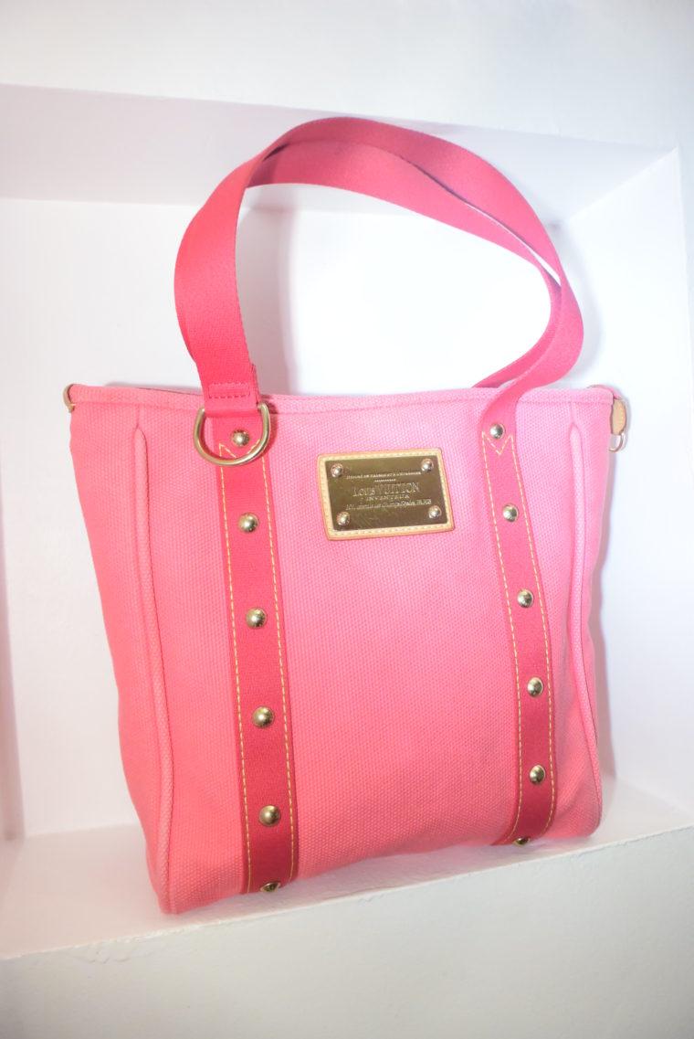 Louis Vuitton Tasche Cabas MM pink-0