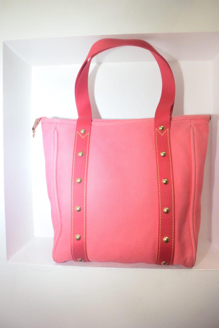 Louis Vuitton Tasche Cabas MM pink-9091