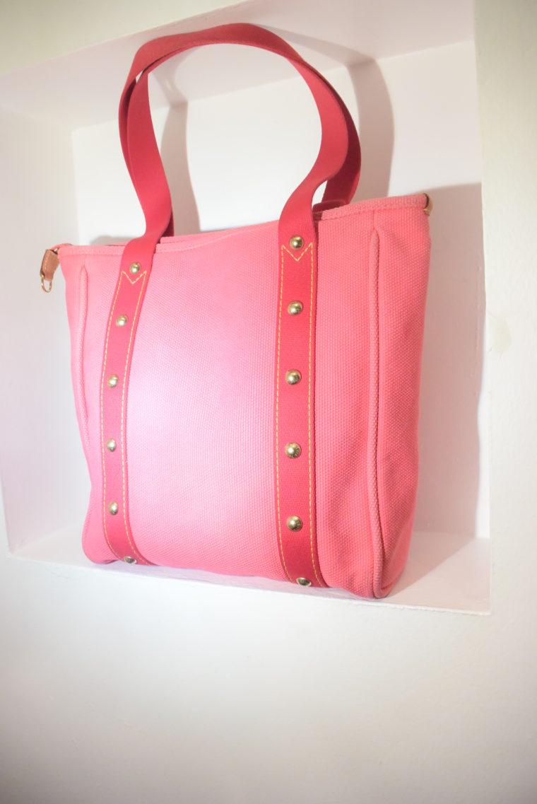 Louis Vuitton Tasche Cabas MM pink-9099
