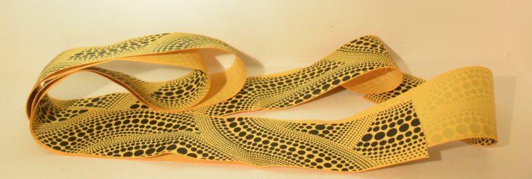 Louis Vuitton Tuch Bandana gelb Kusama-9705