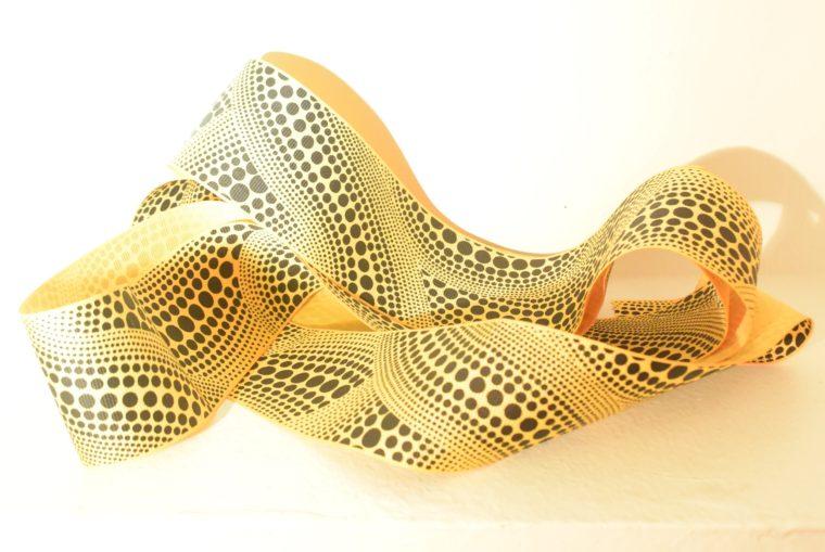 Louis Vuitton Tuch Bandana gelb Kusama-0