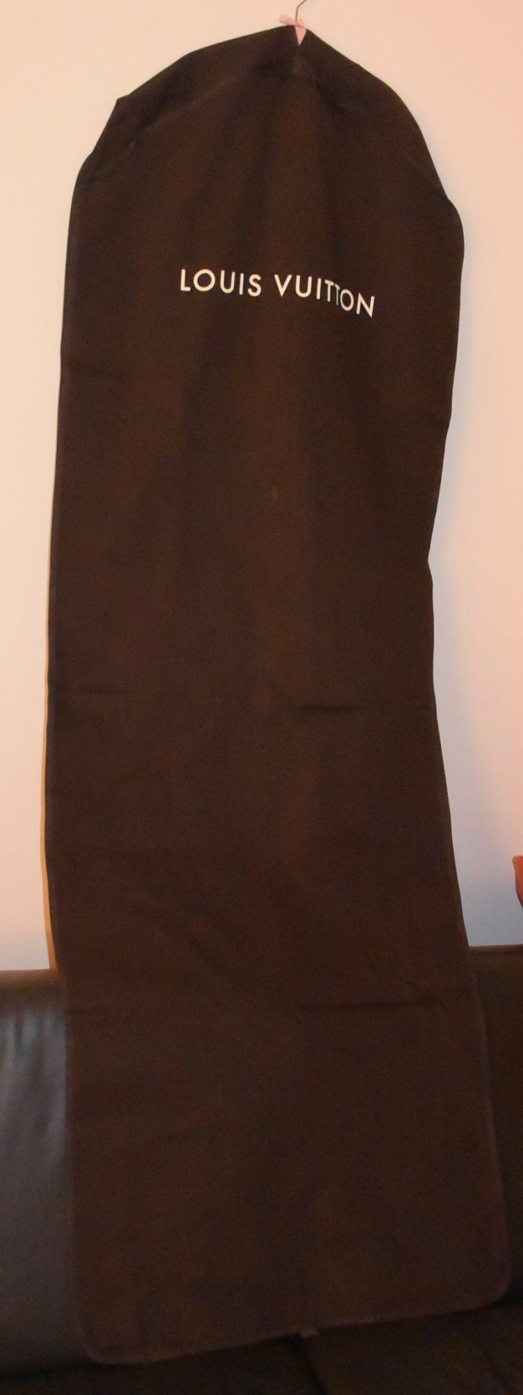 Louis Vuitton Kleidersack braun Stoff lang-9931
