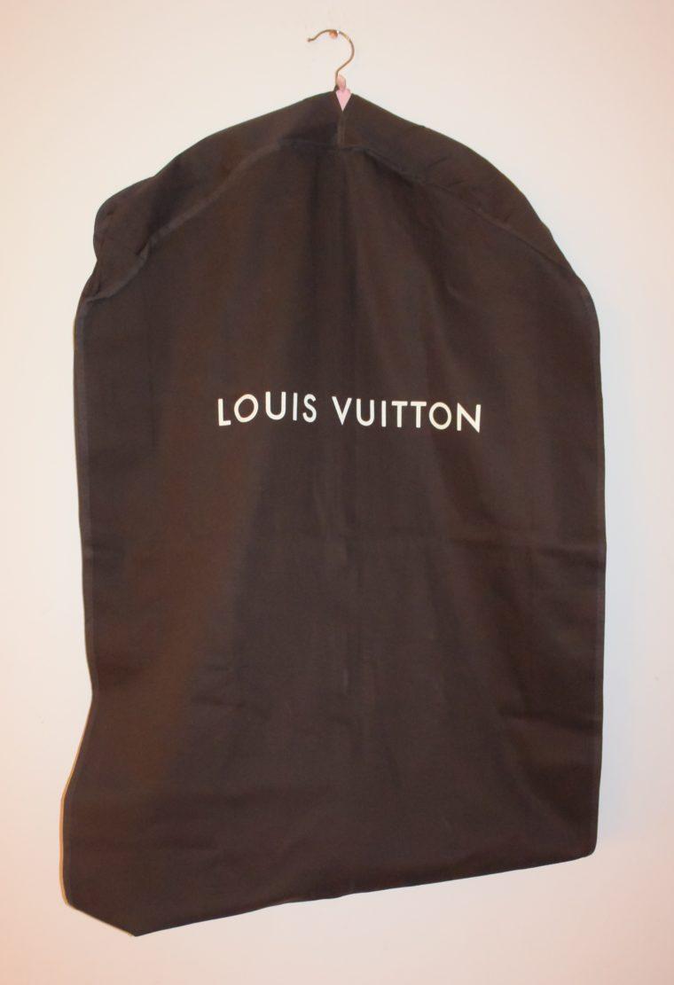 Louis Vuitton Kleidersack braun Stoff lang-0