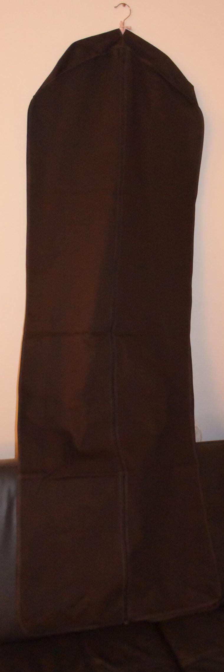 Louis Vuitton Kleidersack braun Stoff lang-9932