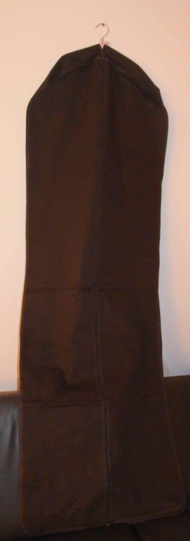 Louis Vuitton Kleidersack braun Stoff lang-9930
