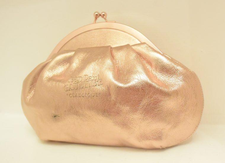 Jean Paul Gaultier Tasche Clutsch bronze-10381