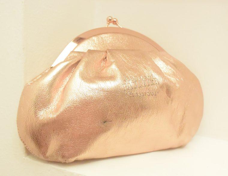 Jean Paul Gaultier Tasche Clutsch bronze-10380