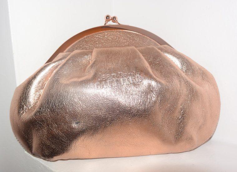 Jean Paul Gaultier Tasche Clutsch bronze-10378