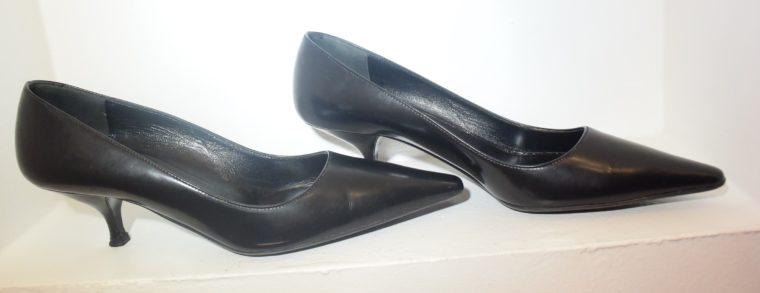 Prada Pumps schwarz Leder 36-10770