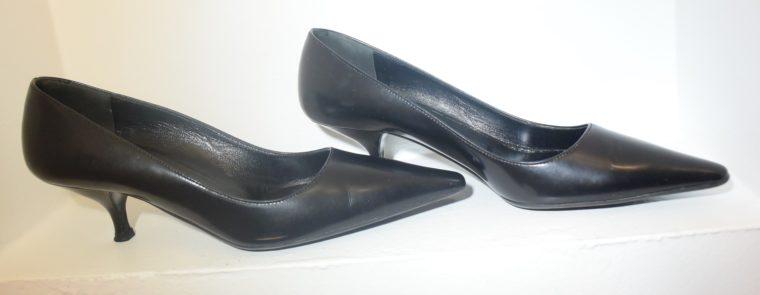 Prada Pumps schwarz Leder 36-10767
