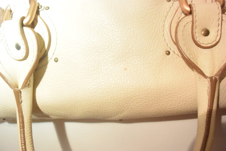 Chloe Tasche Paddington Leder beige -10792