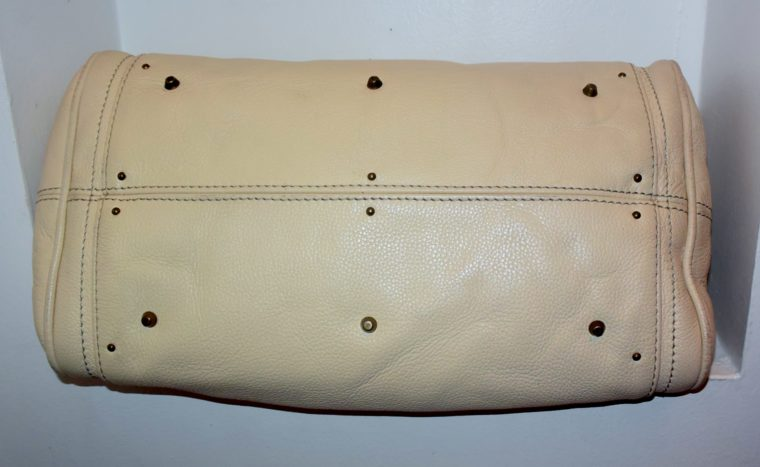 Chloe Tasche Paddington Leder beige -10798