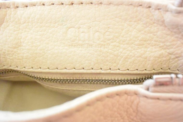 Chloe Tasche Paddington Leder beige -10802