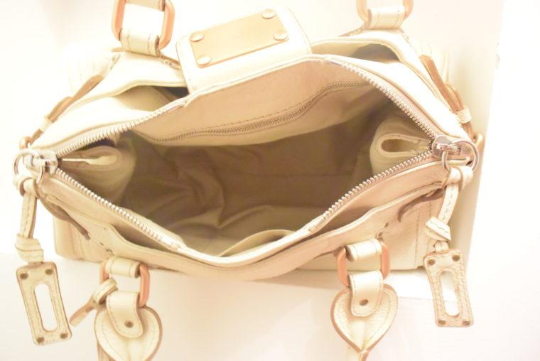 Chloe Tasche Paddington Leder beige -10801
