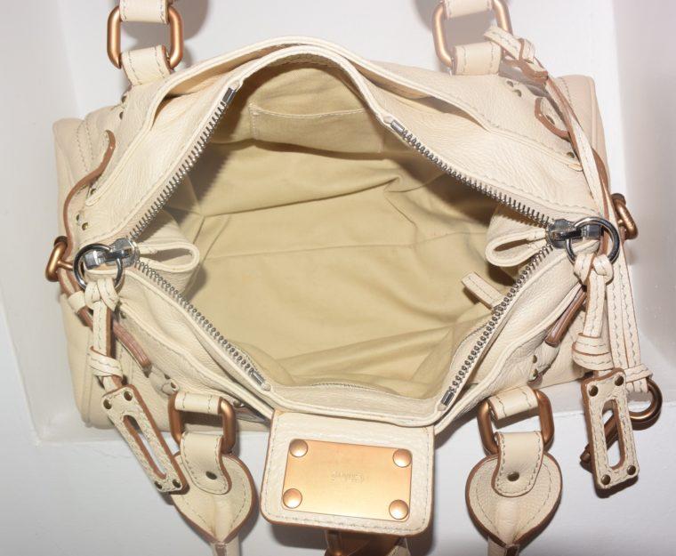 Chloe Tasche Paddington Leder beige -10808