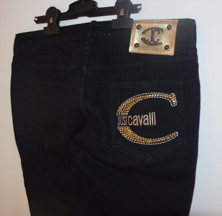 Cavalli Hose Jeans schwarz 27-10877