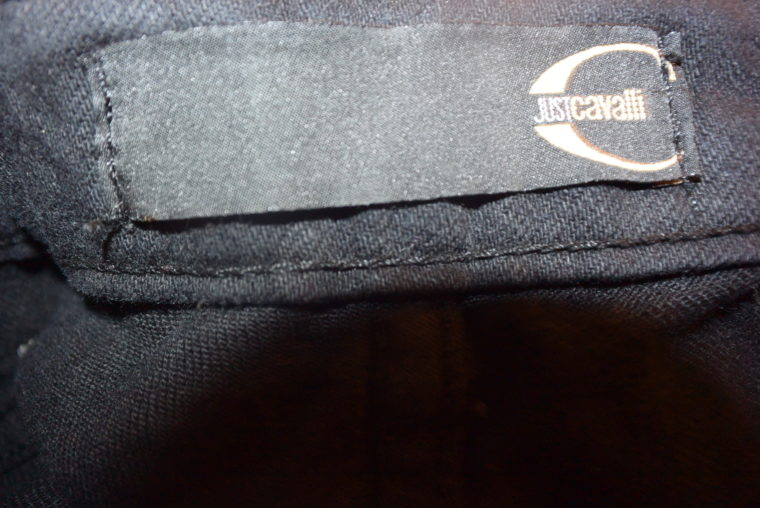 Cavalli Hose Jeans schwarz 27-10871