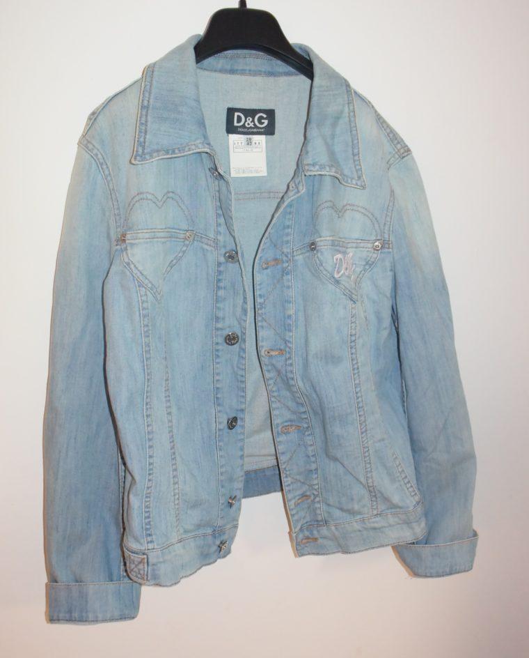 D&G Jacke Jeansjacke blau 36-10902