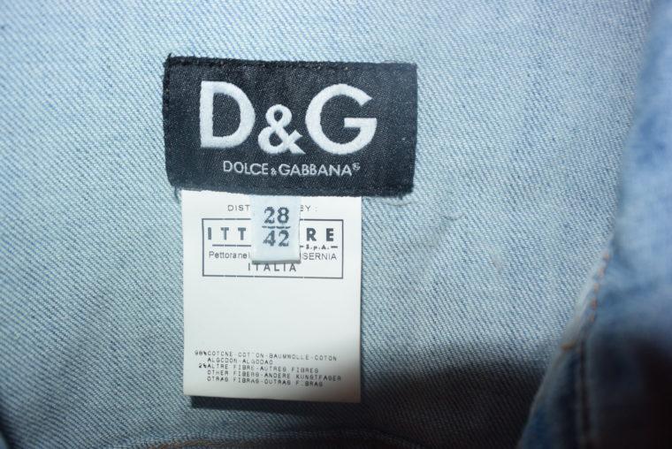 D&G Jacke Jeansjacke blau 36-10904