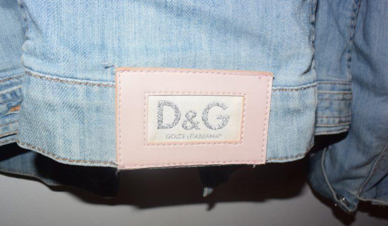 D&G Jacke Jeansjacke blau 36-10900