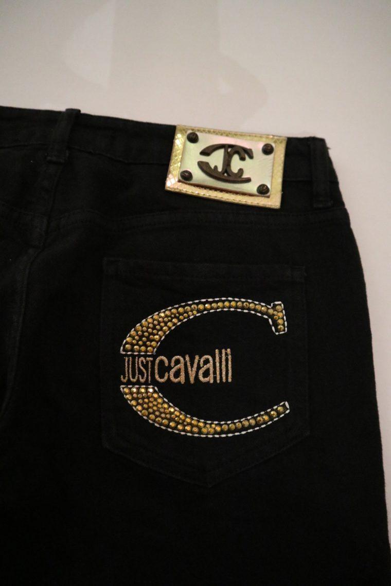 Cavalli Hose Jeans schwarz 27-14718