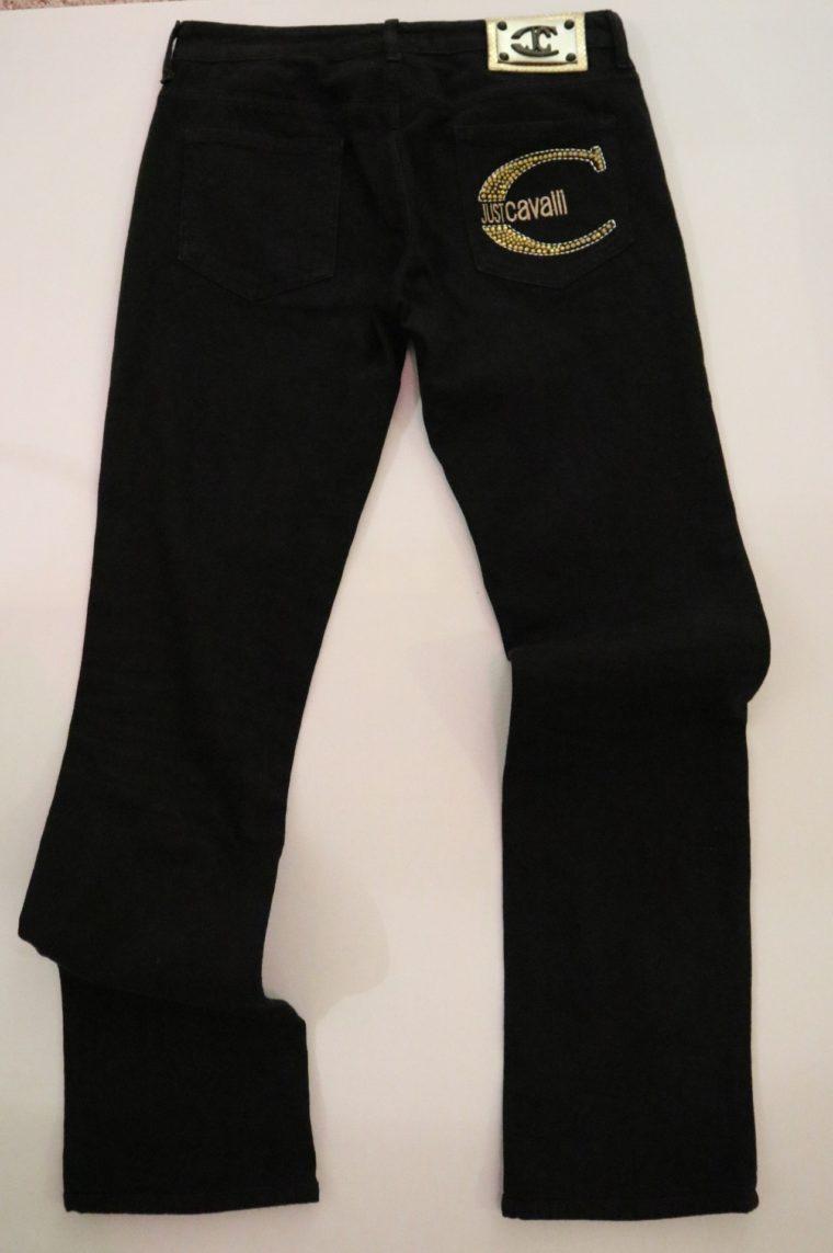 Cavalli Hose Jeans schwarz 27-14717