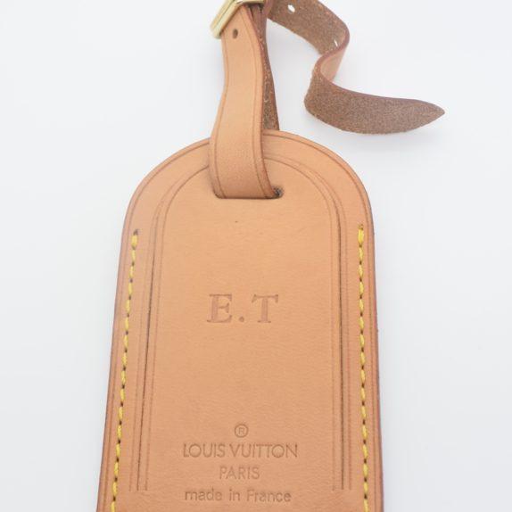 Louis Vuitton Adressanhänger VVN Leder E.T