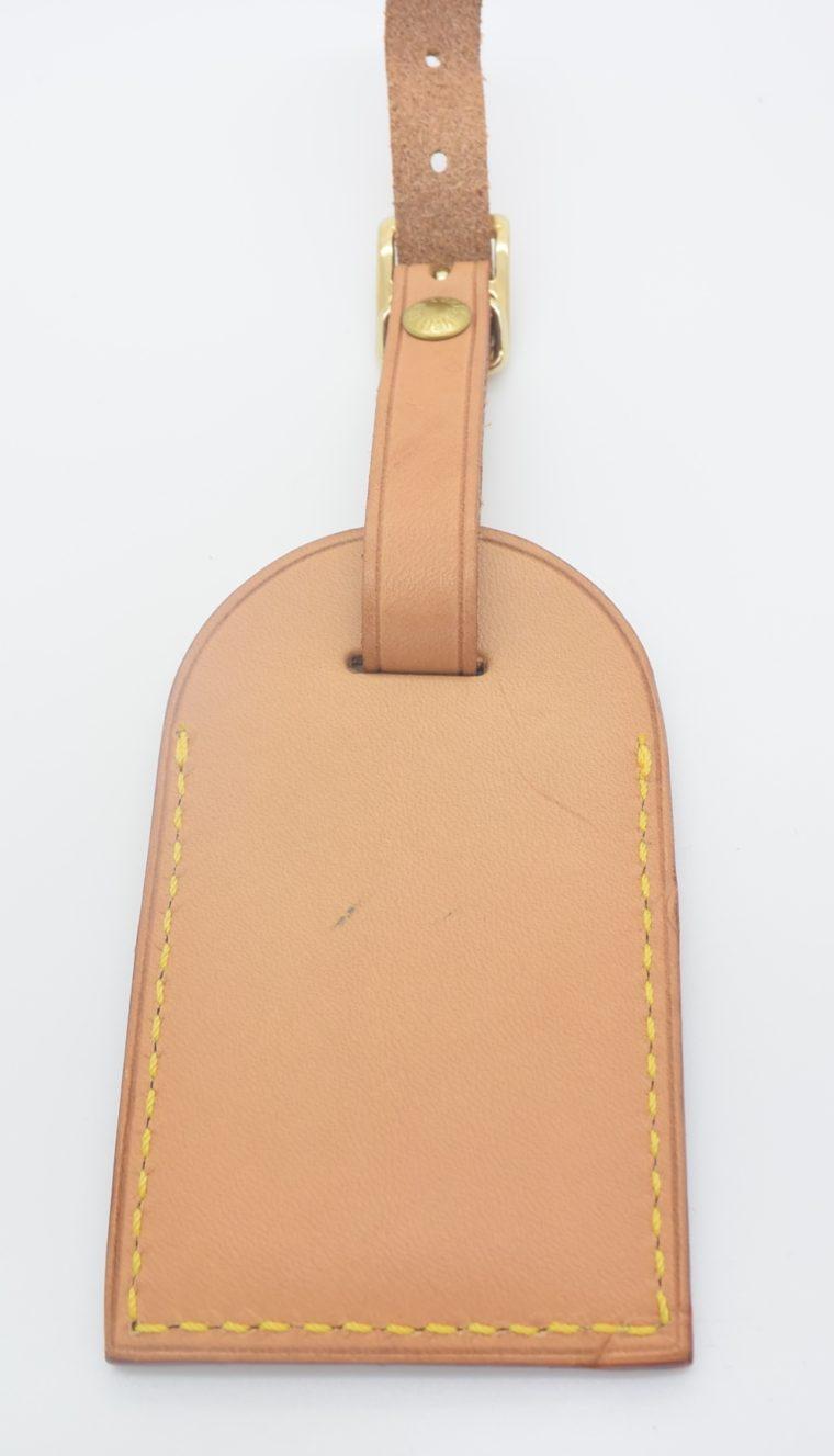 Louis Vuitton Adressanhänger VVN Leder E.T-11188