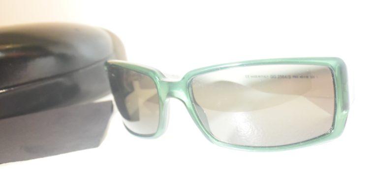 Gucci Sonnenbrille grün weiß-11237