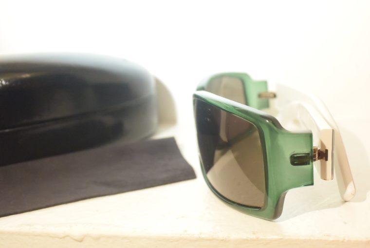 Gucci Sonnenbrille grün weiß-11238