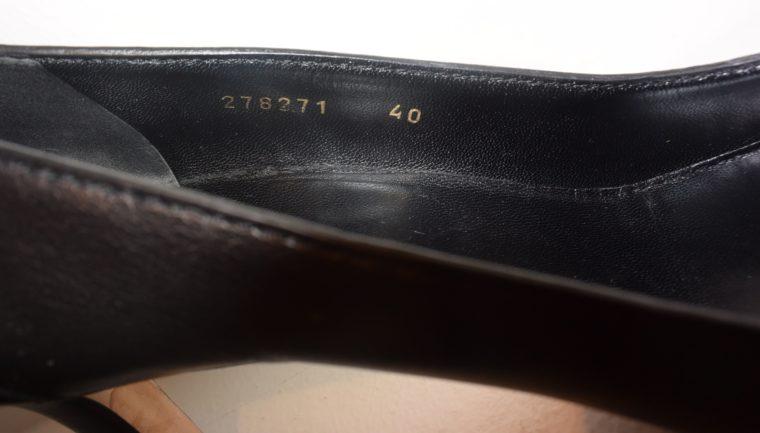 Gucci Pumps Leder schwarz 40-11261