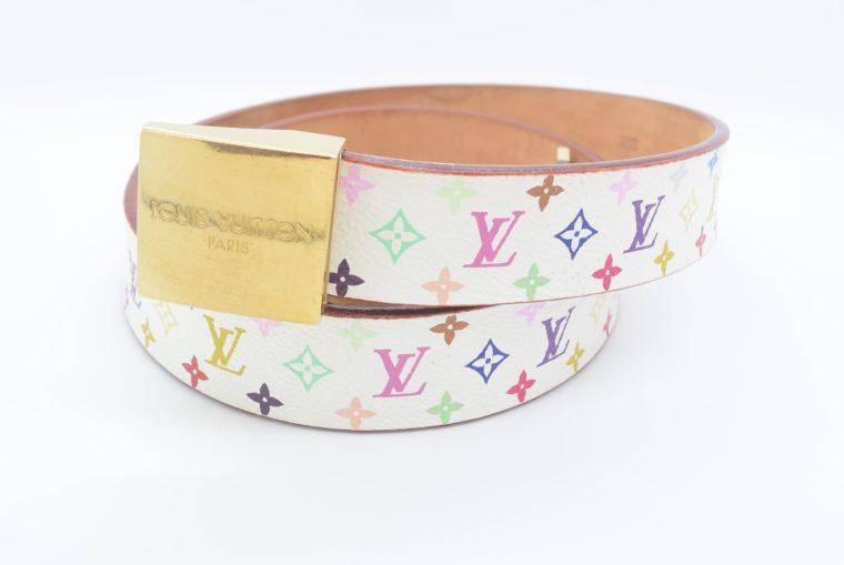 Louis Vuitton Gürtel Multicolor weiß-11782