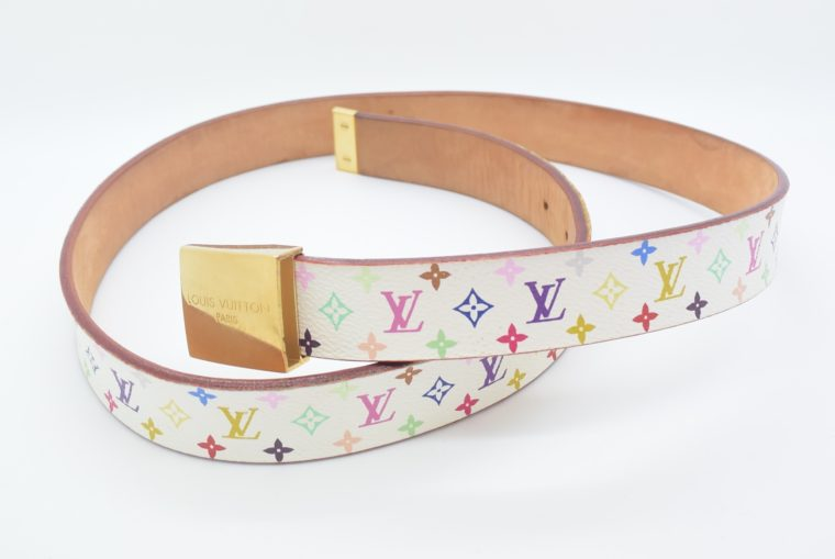 Louis Vuitton Gürtel Multicolor weiß-0