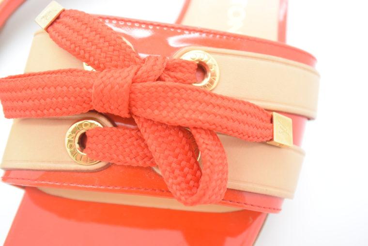 Louis Vuitton Pumps 38 rot beige-11778