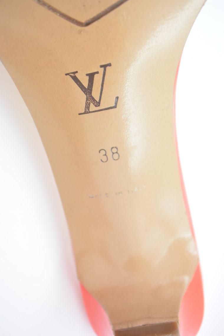 Louis Vuitton Pumps 38 rot beige-11776