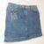 Louis Vuitton Jeans Rock blau