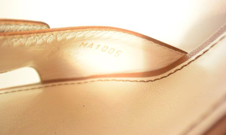 Louis Vuitton Schuhe Pumps weiss Leder 37-11870