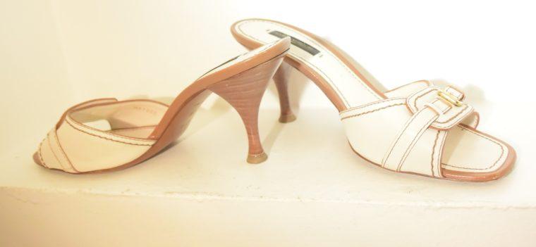 Louis Vuitton Schuhe Pumps weiss Leder 37-11869