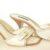 Louis Vuitton Schuhe Pumps weiss Leder 37