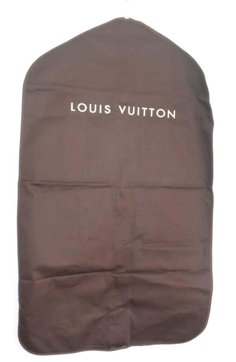 Louis Vuitton Kleidersack Kleiderhülle braun Stoff -11863
