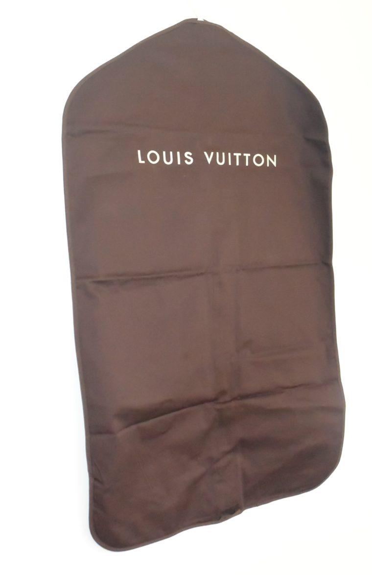 Louis Vuitton Kleidersack Kleiderhülle braun Stoff -0