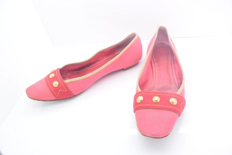 Louis Vuitton Ballerinas 38 pink rosa-11878