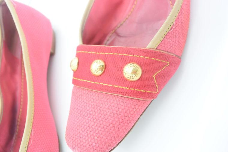 Louis Vuitton Ballerinas 38 pink rosa-11882