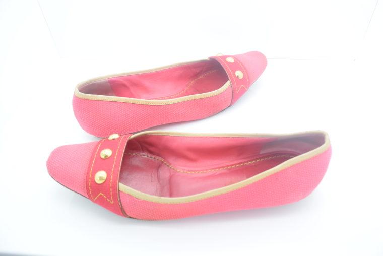 Louis Vuitton Ballerinas 38 pink rosa-11879