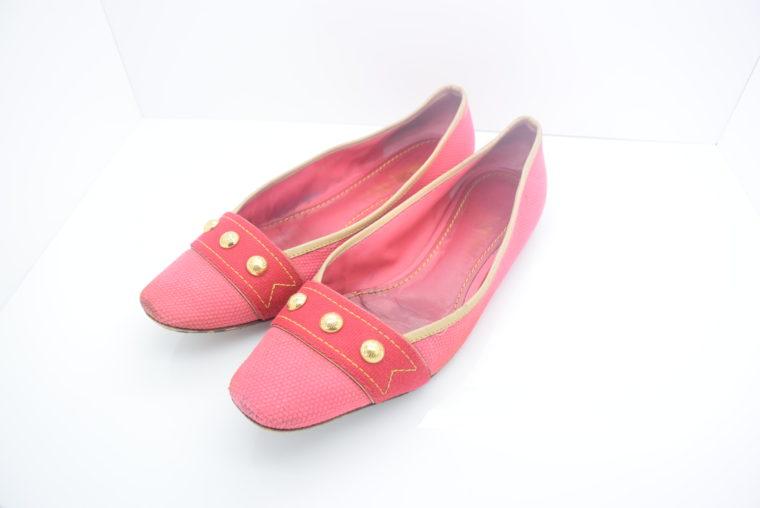 Louis Vuitton Ballerinas 38 pink rosa-0
