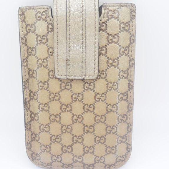 Gucci Handyetui beige gold