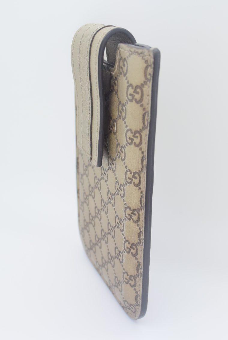 Gucci Handyetui beige gold-11885