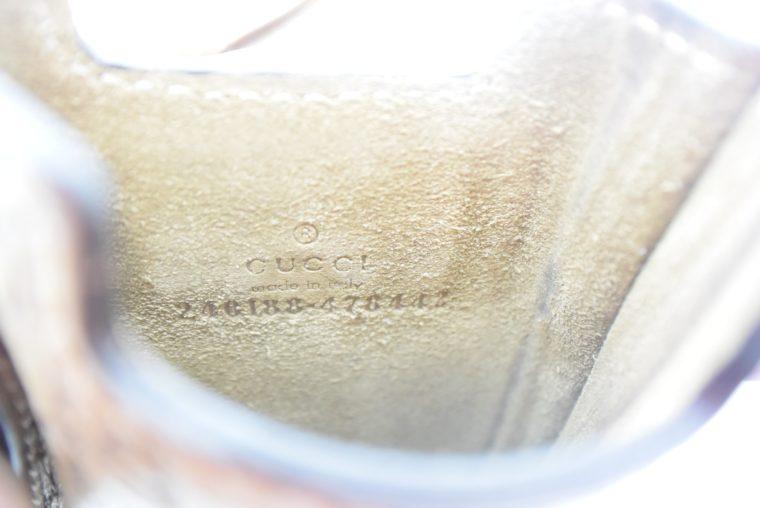 Gucci Handyetui beige gold-11888